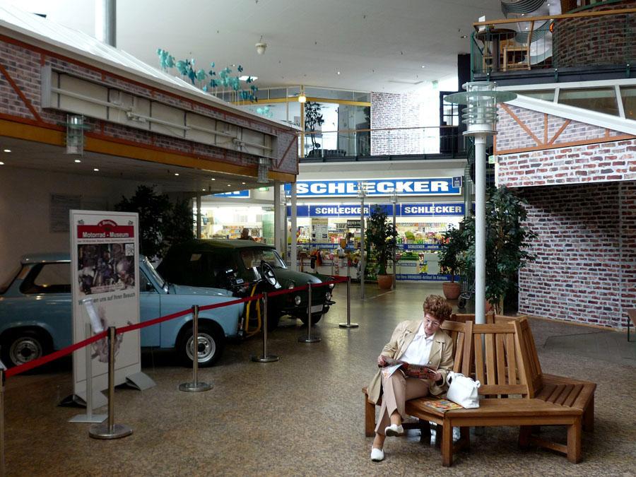 cruise ship interior street
