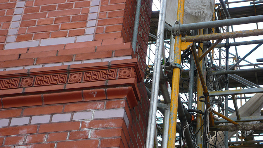 Whilst the work of stone masons is considered to be an invaluable cultural treasure worthy of subsidization, anonymous scaffolders are diligently stitching together much of Berlin.