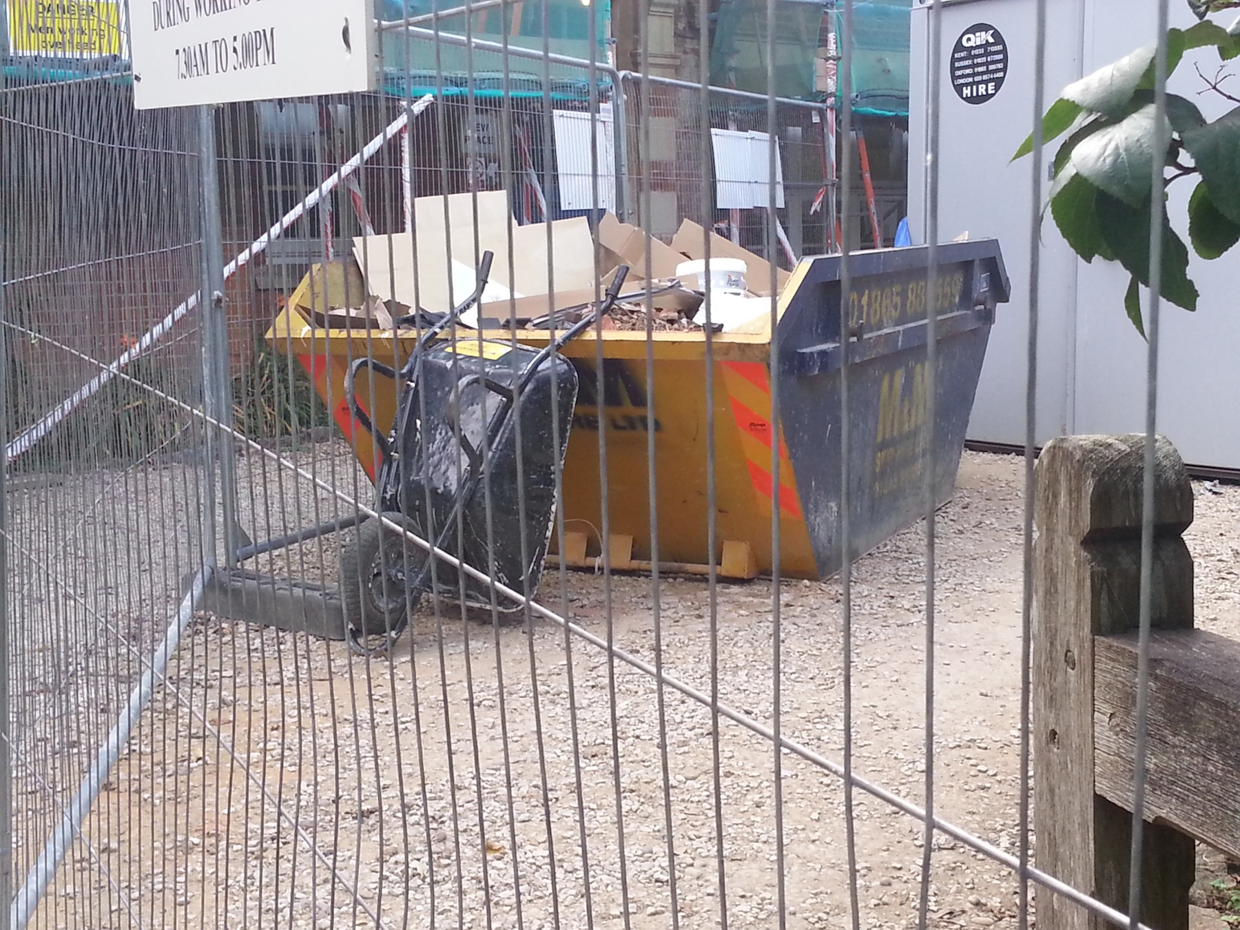 The outstanding architecture of Oxford is ending up in skips